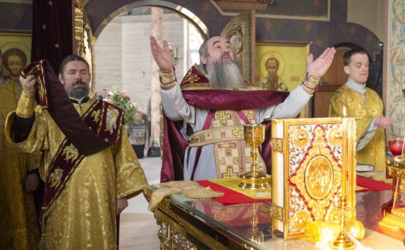 В храме вмч.Варвары г.Светлого отметили юбилей настоятеля прихода протоиерея Иосифа Ильницкого