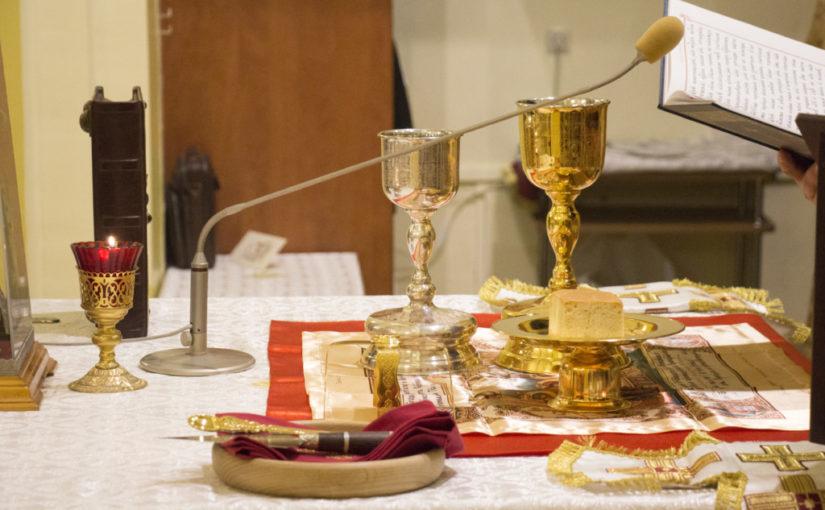 Изменение в расписание богослужений