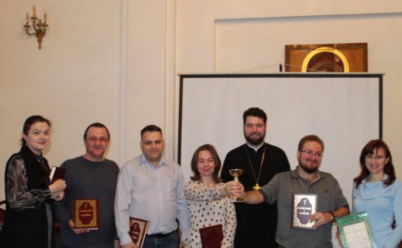 Состоялся VIII открытый турнир на кубок Калининградской епархии по интеллектуальной игре «Что? Где? Когда?»