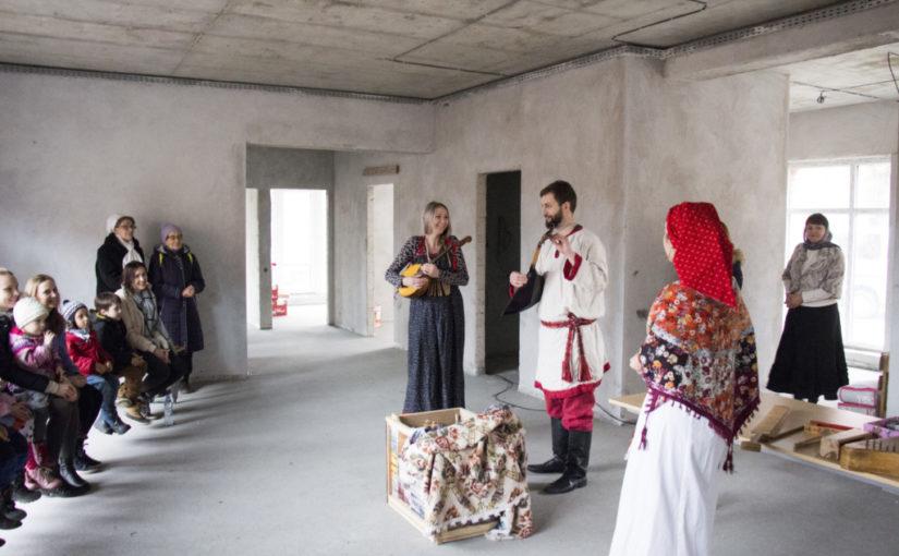 В приходском доме храма Преображения Господня прошел первый праздник для детей