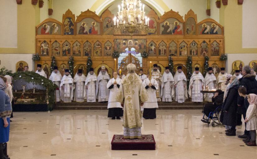 Архиепископ Серафим совершил Божественную литургию в храме Преображения Господня г.Зеленоградска
