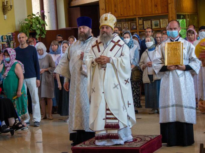 Праздник Преображения Господня в Зеленоградске